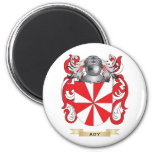 Ady Coat of Arms (Family Crest) 2 Inch Round Magnet