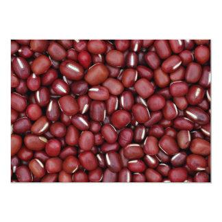 Adzuki beans card