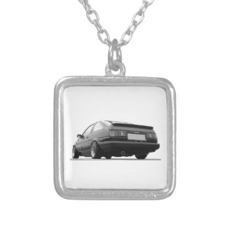 ae86 hachi corolla toyota sprinter trueno silver plated necklace