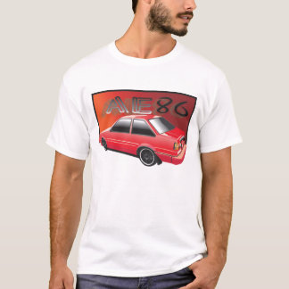 AE86 Red T-Shirt