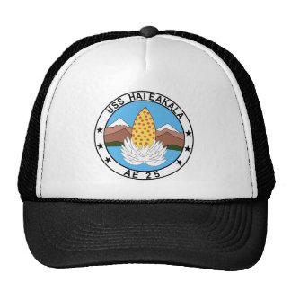 AE-25 USS Haleakala Ammunition Ship Military Patch Hats