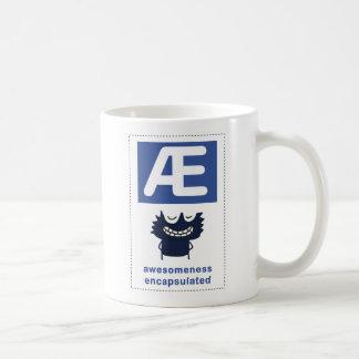 ae: awesomeness encapsulated classic white coffee mug