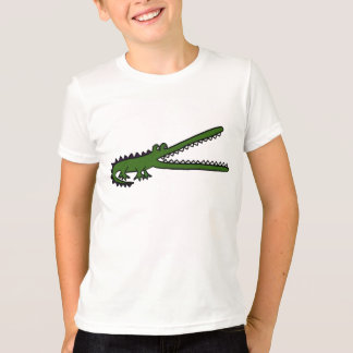AE camiseta del dibujo animado del cocodrilo Remeras