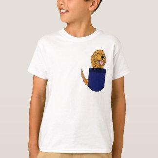 AE de oro en un bolsillo Playera
