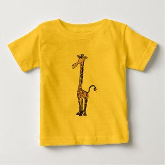 AE equipo enrrollado de la jirafa Polera