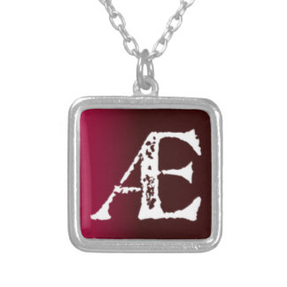 AE Ligature Custom Necklace