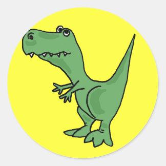 AE-T-Rex Cartoon Stickers