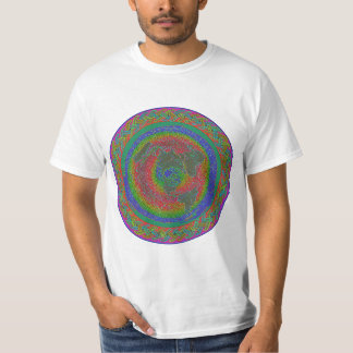 AE temp & currents map with scripture braid T-shirt