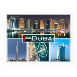 AE United  Arab Emirates -  Dubai - Postcard
