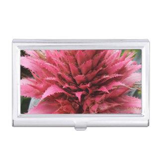 Aechmea Flower Business Card Holder