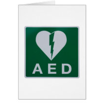 AED Defibrillator symbol