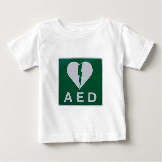 AED Defibrillator symbol Baby T-Shirt
