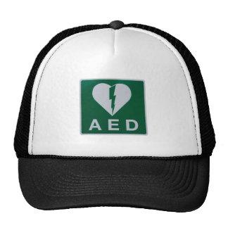 AED Defibrillator symbol Trucker Hat