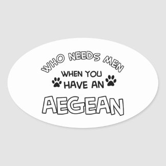 Aegean cat breed designs stickers