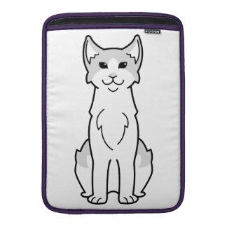 Aegean Cat Cartoon MacBook Air Sleeves