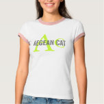 Aegean Cat Monogram T-Shirt