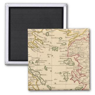 Aegean Sea 2 Inch Square Magnet