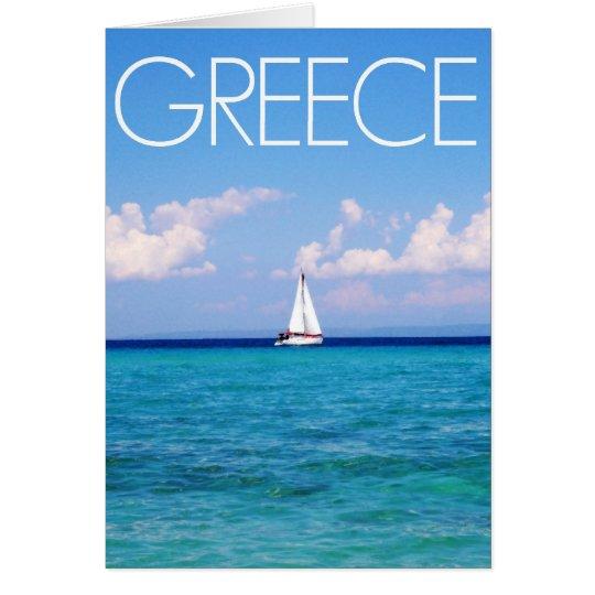 Aegean sea card