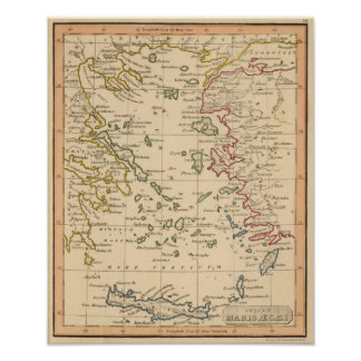 Aegean Sea Poster