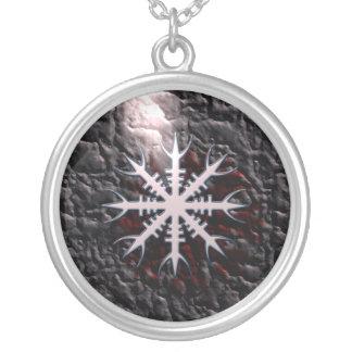 Aegishjalmur viking amulet charm necklace