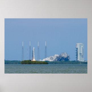 AEHF Atlas V Liftoff Poster