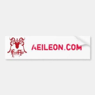 Aeileon.com Bumper Sticker