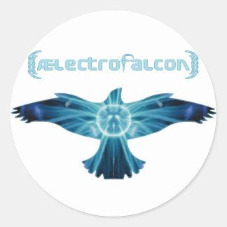 AElectrofalcon Logo Classic Round Sticker