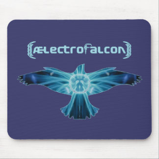AElectrofalcon Logo Mouse Pad