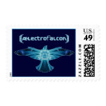 AElectrofalcon Logo Stamps