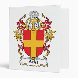 Aelst Family Crest 3 Ring Binder