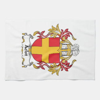 Aelst Family Crest Hand Towel