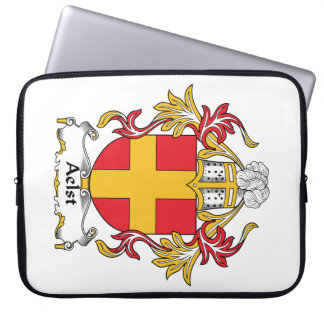 Aelst Family Crest Laptop Computer Sleeve