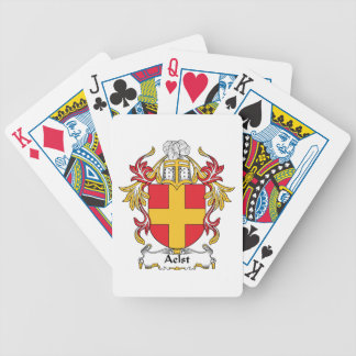 Aelst Family Crest Bicycle Poker Cards