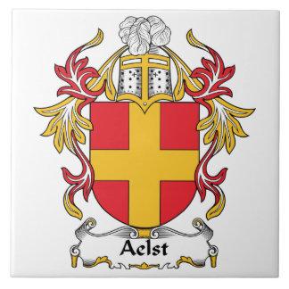 Aelst Family Crest Tiles