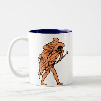 Aeneas & Anchises mug