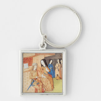 Aeneas and Dido, from the works of Virgil Keychain