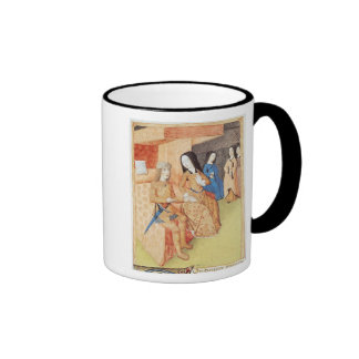 Aeneas and Dido, from the works of Virgil Ringer Coffee Mug