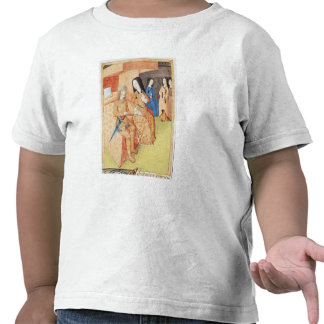 Aeneas and Dido, from the works of Virgil Tshirts