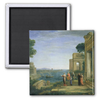 Aeneas and Dido in Carthage, 1675 Fridge Magnet
