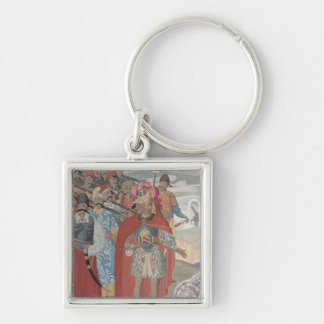Aeneas and his Soldiers, 1919 Keychain