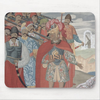 Aeneas and his Soldiers, 1919 Mouse Pad