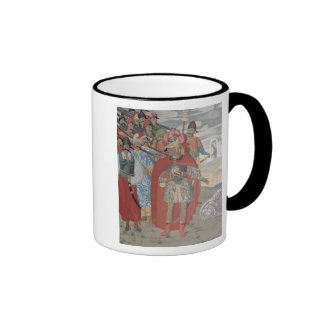 Aeneas and his Soldiers, 1919 Ringer Coffee Mug