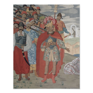 Aeneas and his Soldiers, 1919 Poster