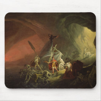 Aeneas and the Sibyl, c.1800 (oil on canvas) Mouse Pad