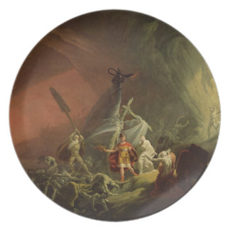 Aeneas and the Sibyl, c.1800 (oil on canvas) Plate