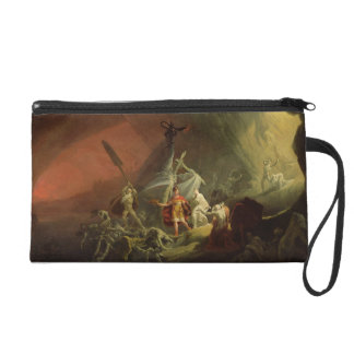Aeneas and the Sibyl, c.1800 (oil on canvas) Wristlet Purse