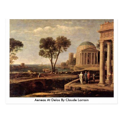 Aeneas At Delos By Claude Lorrain Postcards