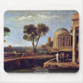 Aeneas At Delos By Lorrain Claude Mouse Pad