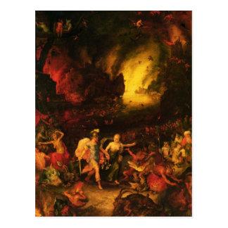 Aeneas en Hades Tarjeta Postal