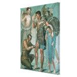 Aeneas hirió, de Pompeya Impresión En Lienzo Estirada